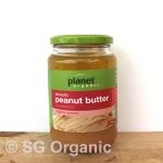 sg organic smooth peanut butter