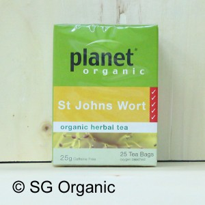 planet organic st john wort tea