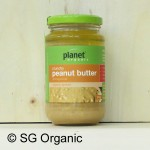 sg organic crunchy peanut butter