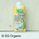 sg organic coconut water