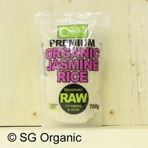 sg organic jasmine rice