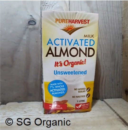 SG Organic_Milk Almond, PureHarvest (Feature)